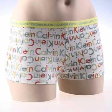 CK dames shorty logo paint