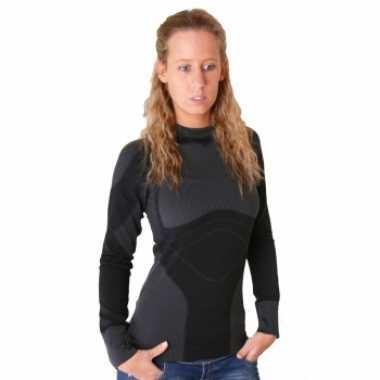 Craft thermo shirt zwart dames