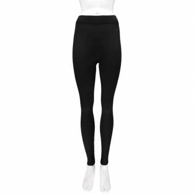 Thermo legging dames zwart